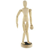 Magnetic Wooden Manikin with Ball